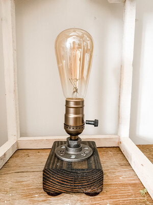 Single bulb industrial light small