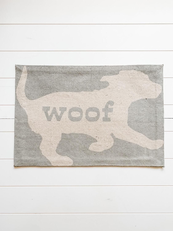 Woof Dog Mat
