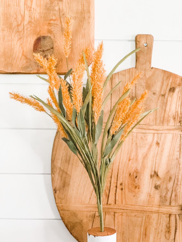 Wheat Grass Stem Gold