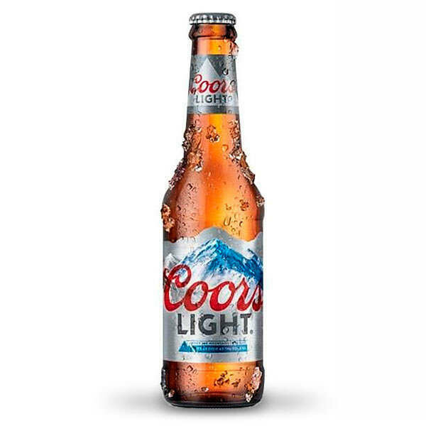 Coors Light Bottle