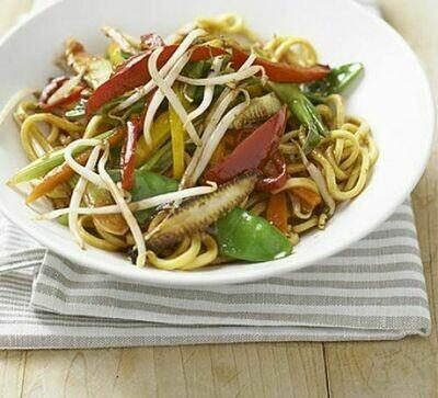Vegetarian Oriental Wok