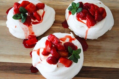 Strawberry Meringue