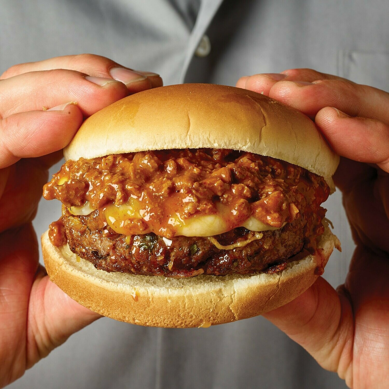 Chilli Burger & Fries