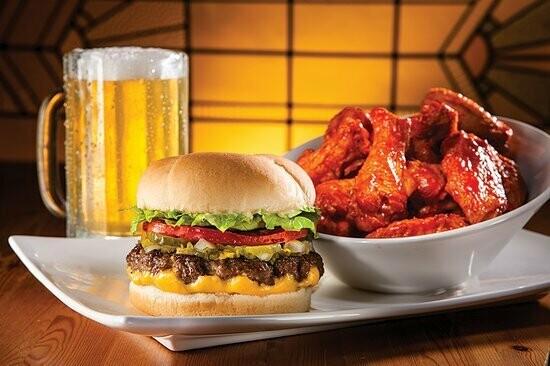 Burgers, Wings & Beers