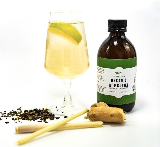 Kombucha - Ginger & Lemongrass