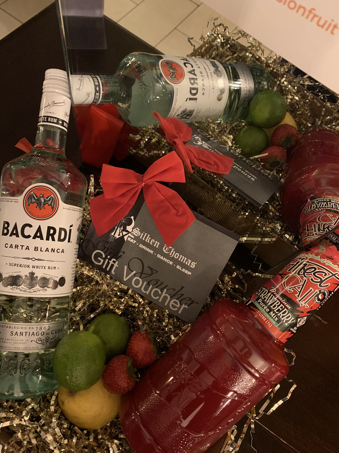 Strawberry Daiquiri Hamper with Silken Thomas Voucher