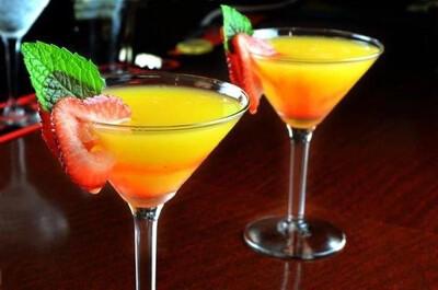 2 X Mango Martini's