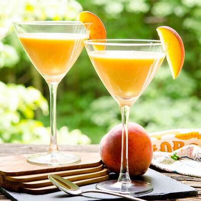 2 X Peach Martini
