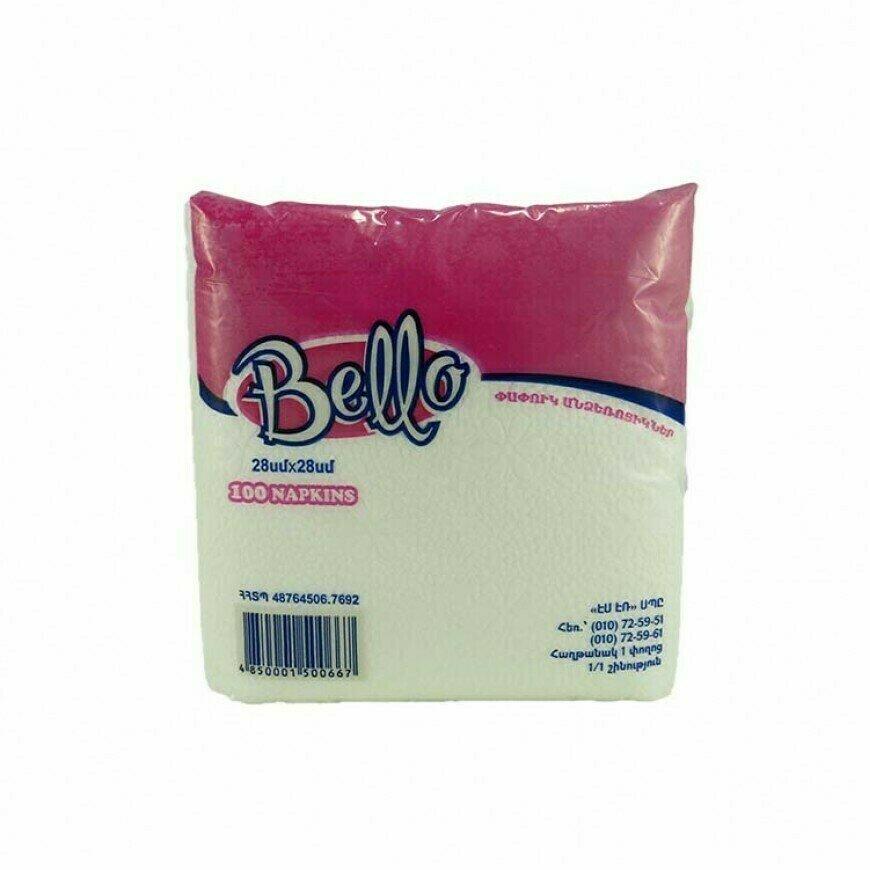 Անձեռոցիկ «Bello» քաշովի 100 հատ