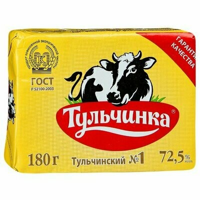 Սփրեդ Տուլչինկա 180գ 72.5% (հատ)