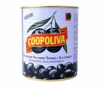 Ձիթապտուղ Կոպոլիվա 850մլ կորիզով
