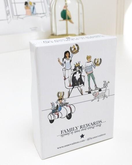Family Rewards - The box