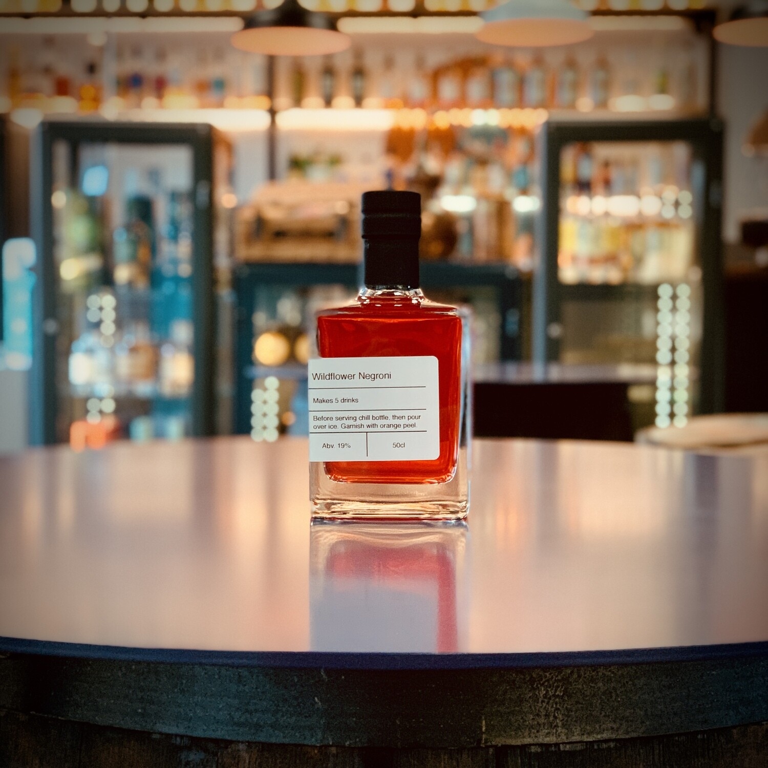 Wildflower Negroni - Bottled Cocktail - 50cl