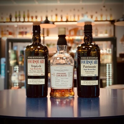 Foursquare - Rum Tasting Trio - 3 x 3cl