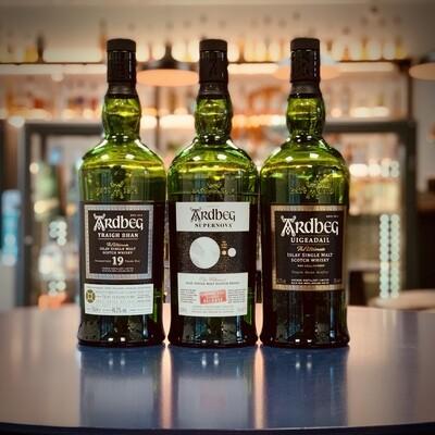 Ardbeg - Whisky Tasting Trio - 3 x 3cl