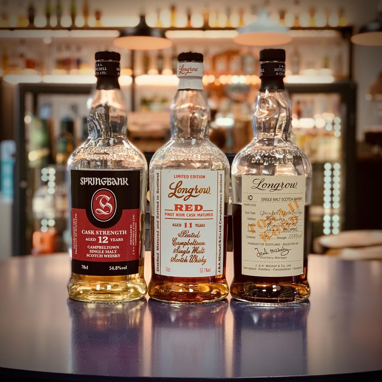 Springbank Distillery - Whisky Tasting Trio - 3 x 3cl