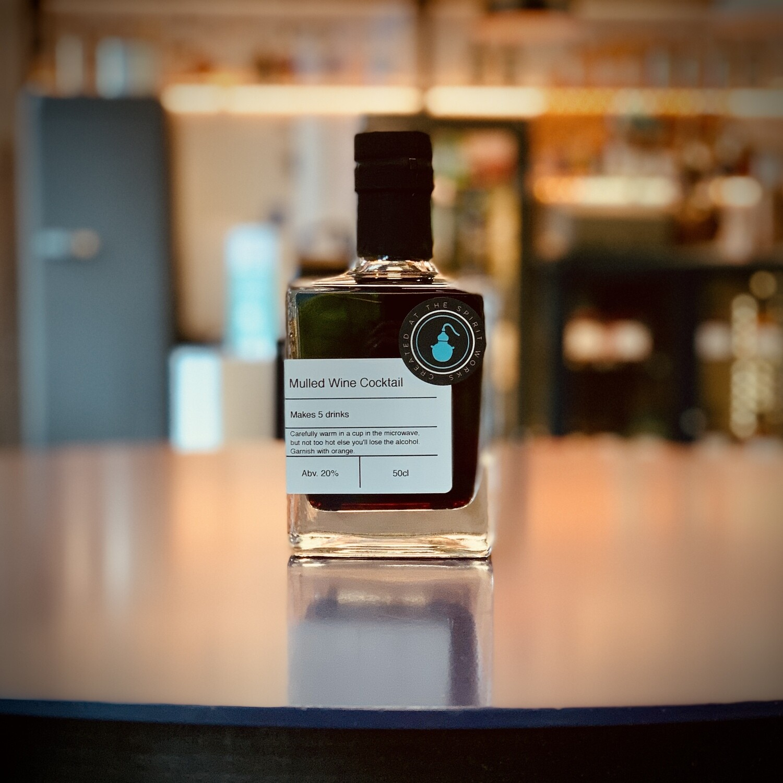 Mulled Wine - Bottled Cocktail - 50cl