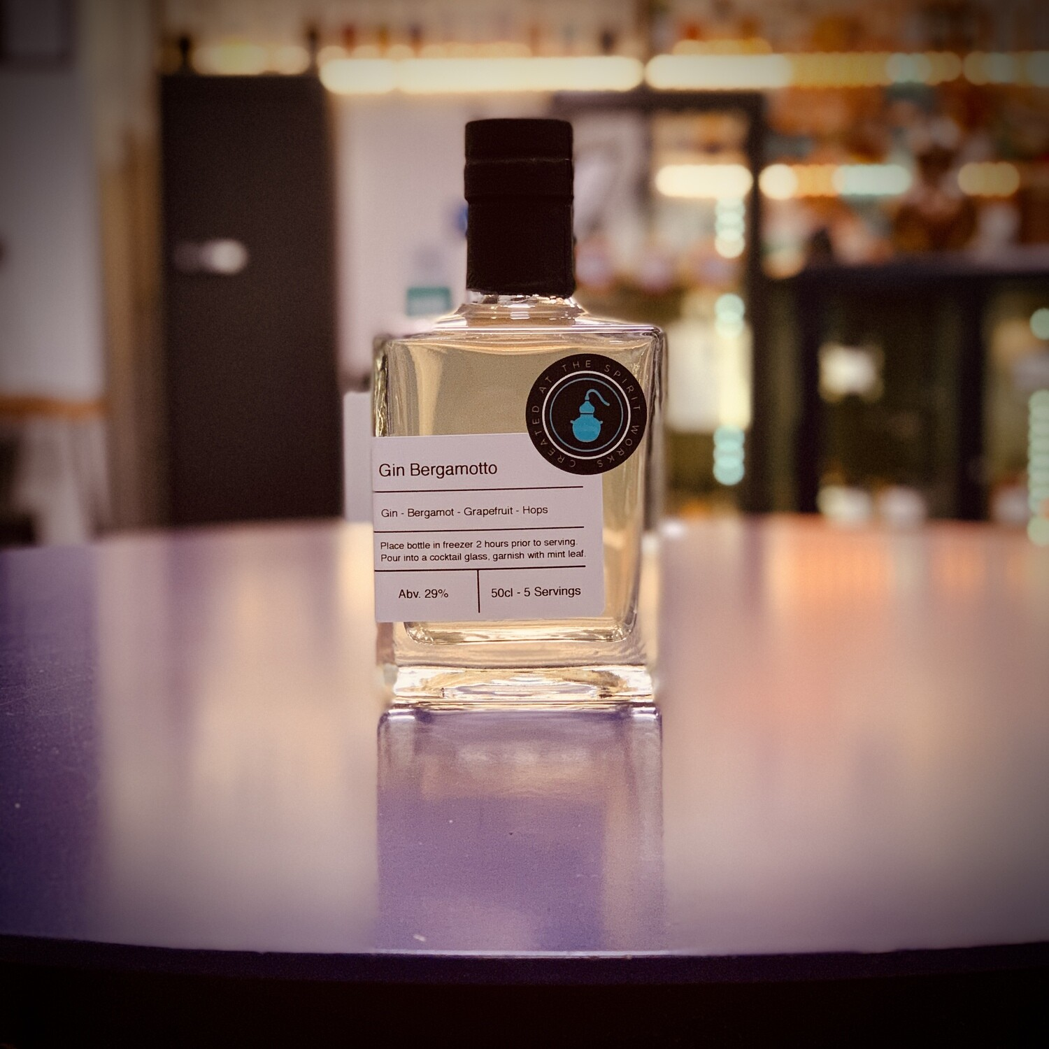 Gin Bergamotto - Bottled Cocktail - 50cl