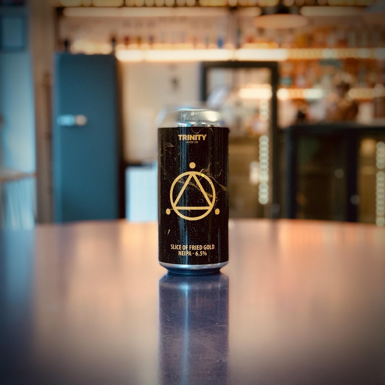 """Trinity Brew Co. """"Slice of Fried Gold"""" NEIPA - 440ml"""