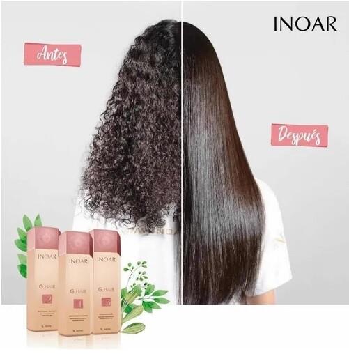 ALISADO BRASILEÑO G.Hair  Inoar - LISO HASTA 3 MESES