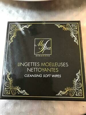 Lingettes moelleuses nettoyantes