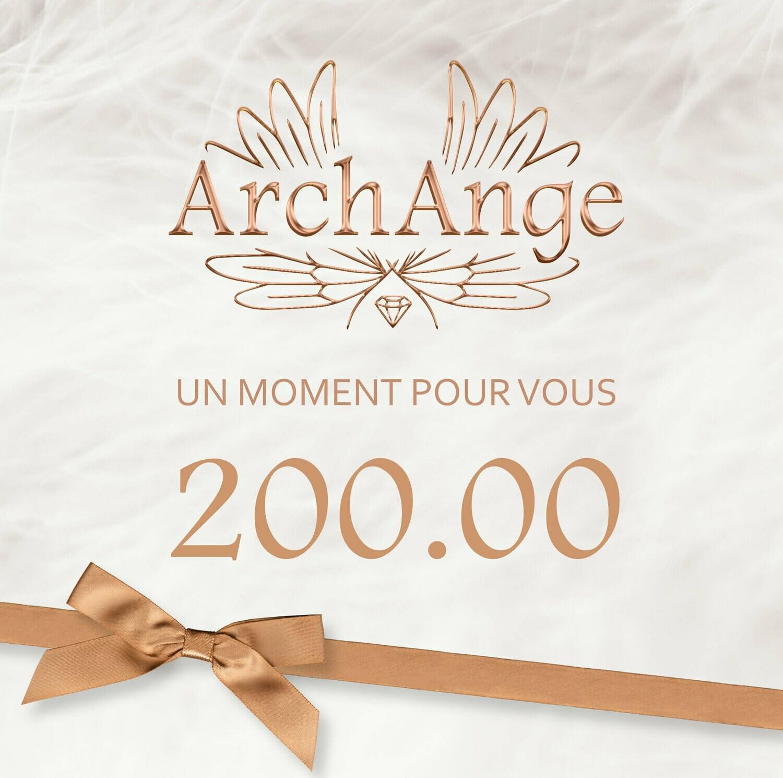 Bon Cadeau 200 CHF