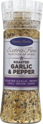 Santa Maria / Geroosterde knoflook en peper