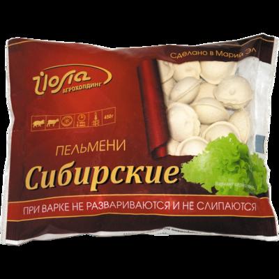 """Пельмени """"Сибирские"""" 0.450 гр."""