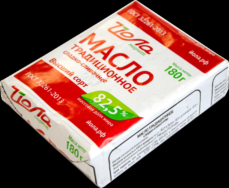 Масло ЙОЛА сладко-сливочное 72,5%