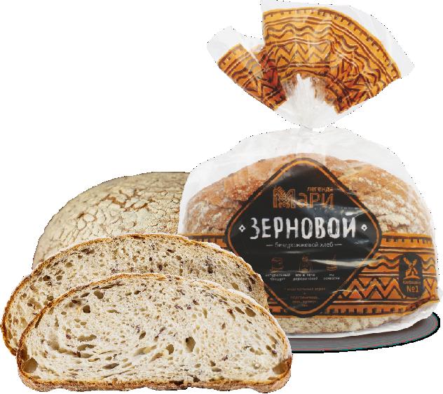 Хлеб Легенда Мари Зерновой в нарезке 300г (Х/З №1)