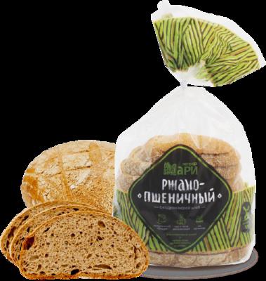 Хлеб Легенда Мари Ржано-Пшеничный в нарезке 320г