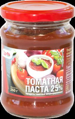Томатная паста Йола с/б 260г