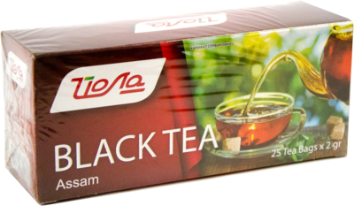 "Чай Ассам ""Йола"" черный 25 пак.009284"