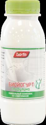 Биойогурт спирулина 2,5%ж. пэт.230г