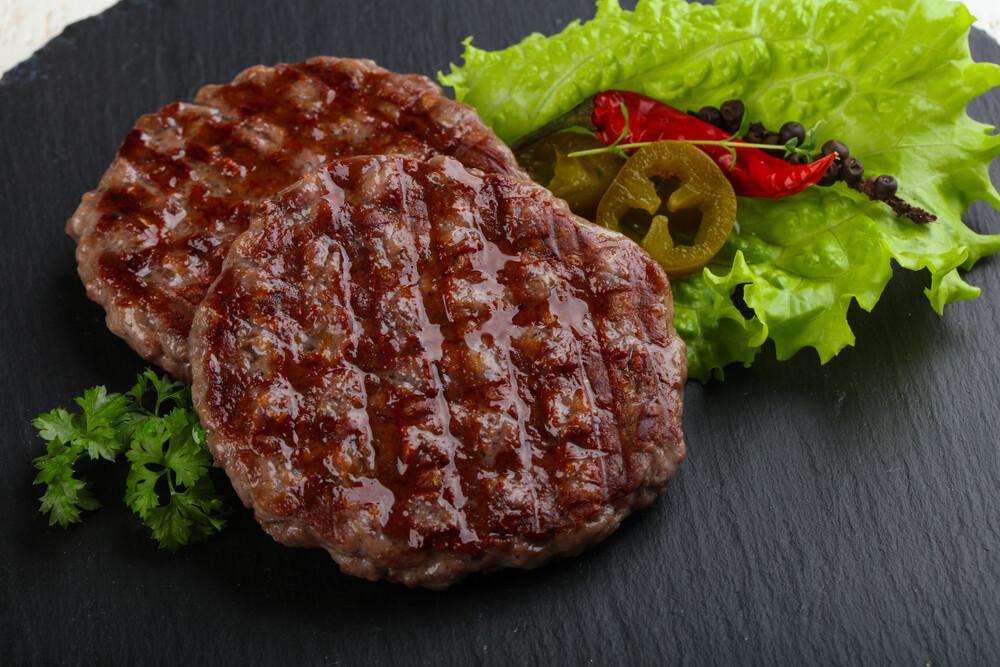 Двойная котлета для тех, кто оооочень любит мясо