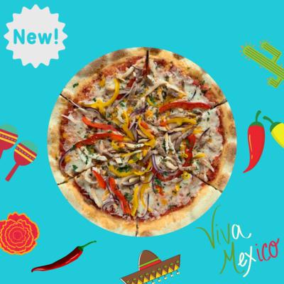 NEW! Мексиканская пицца (для тех, кто любит погорячее)