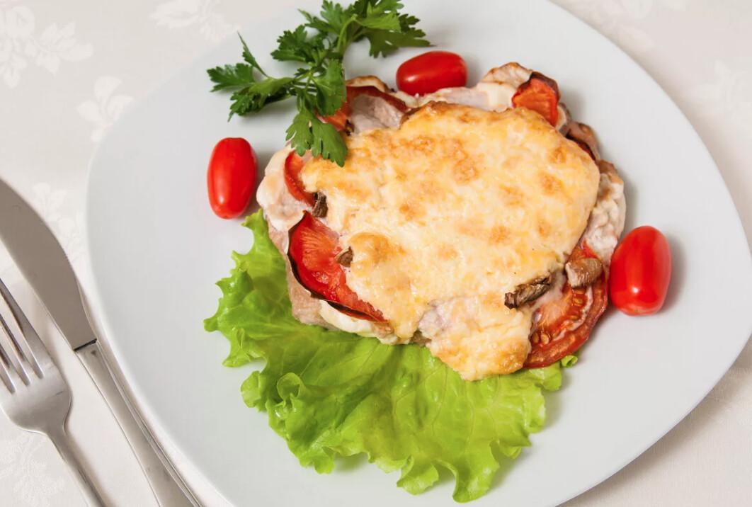 Мясо по-французски 200 гр (полуготовность)