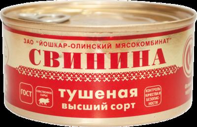 """Свинина тушёная """"ЛЮКС"""", высший сорт, ГОСТ"""