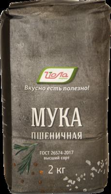 Мука пшеничная Йола в/с 2кг