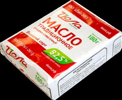Масло ЙОЛА традиционное сладко-сливочное  82,5%