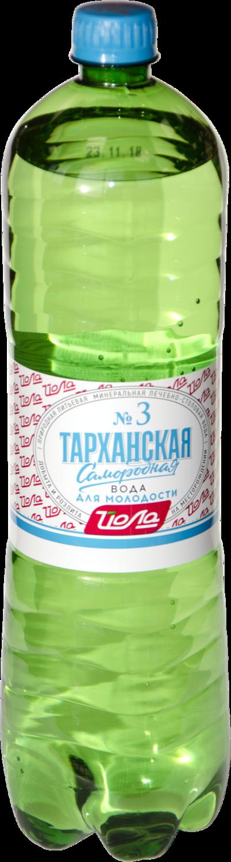 Вода минеральная Тарханская, газ