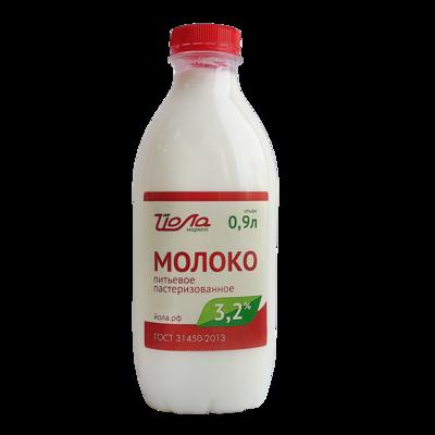 Молоко Йола Гост 3.2% 0.9л пэт