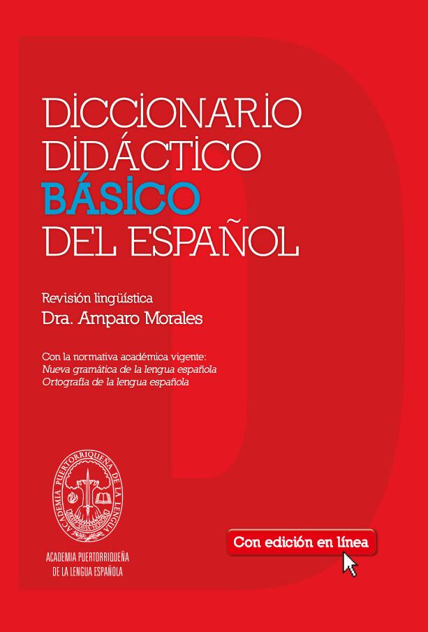 TERCERO - DICCIONARIO DIDACTICO BASICO DEL ESPAÑOL CON ACCESO EN RED POR 3 AÑOS - SM - 2014 - ISBN 9781936534043