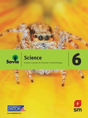SEXTO - SAVIA SCIENCE 6 TEXT, LABORATORY WORKBOOK, AND DIGITAL ACCESS - SM -2018 - ISBN 9781630144944