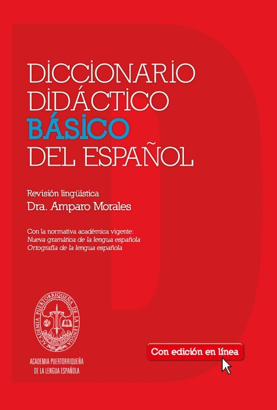 SEXTO - DICCIONARIO DIDACTICO BASICO DEL ESPAÑOL CON ACCESO EN RED POR 3 AÑOS - SM - 2014 - ISBN 9781936534043
