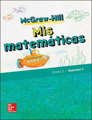 SEGUNDO - MIS MATEMATICAS 2 SPANISH STUDENT BUNDLE (2 VOLUMES PLUS ONLINE ACCESS) - MGH - 2018 - ISBN 9780078988844