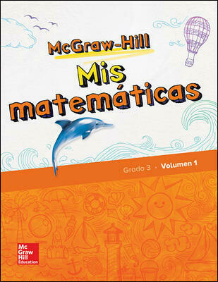 TERCERO - MIS MATEMATICAS 3 SPANISH STUDENT BUNDLE (2 VOLUMES PLUS ONLINE ACCESS) - MGH - 2018 - ISBN 9780078988851