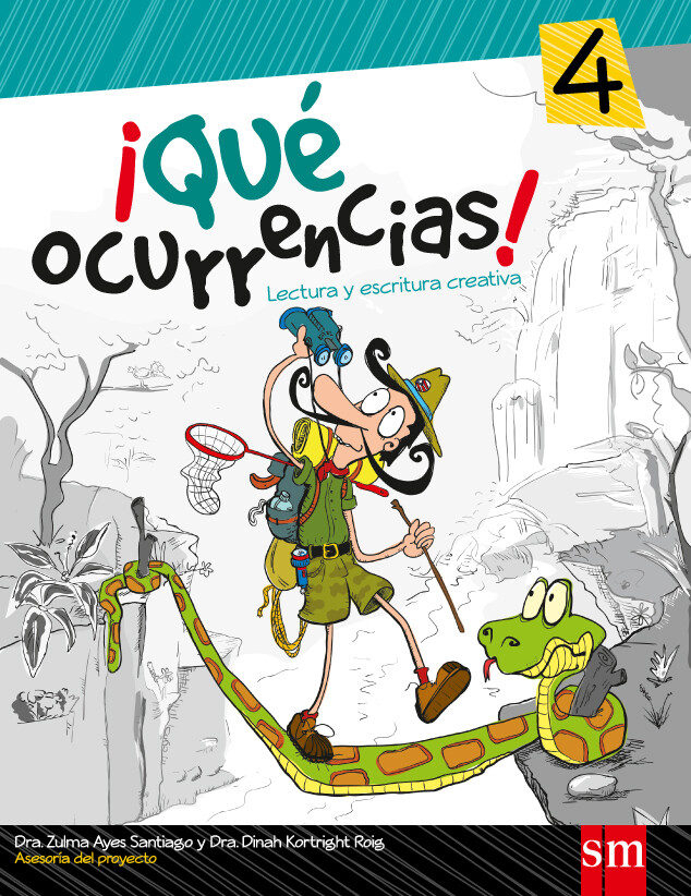 CUARTO - ¡QUE OCURRENCIAS! 4 - SM - 2013 - ISBN 9781936534500