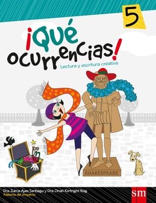 QUINTO - ¡QUE OCURRENCIAS! 5 -SM - 2013 - ISBN 9781936534517