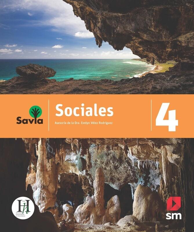 CUARTO - SAVIA SOCIALES 4 TEXTO, VOCABULARIO PARA COMPRENDER Y ACCESO DIGITAL - SM - 2020 - ISBN 9781630148096